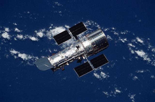 Il telescopio spaziale Hubble (Foto NASA)