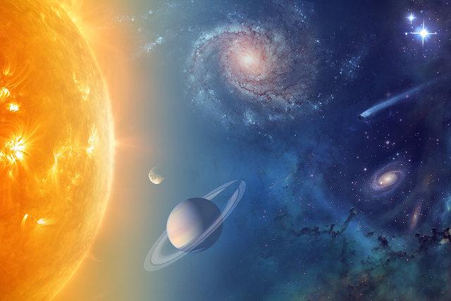 La NASA sta studiando la presenza di acqua nel sistema solare e oltre, anche in relazione alla possibile presenza di forme di vita aliene (Immagine NASA)