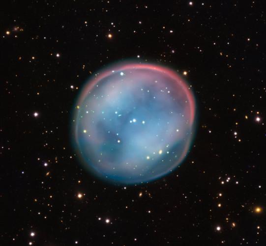 La nebulosa planetaria conosciuta come Nebulosa Civetta Meridionale (Foto ESO)