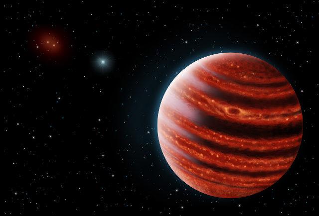 Concetto artistico del pianeta 51 Eridani b (Immagine Danielle Futselaar and Franck Marchis, SETI Institute)