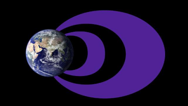 Illustrazione della visione tradizionale delle fasce di Van Allen (Immagine NASA Goddard/Duberstein)