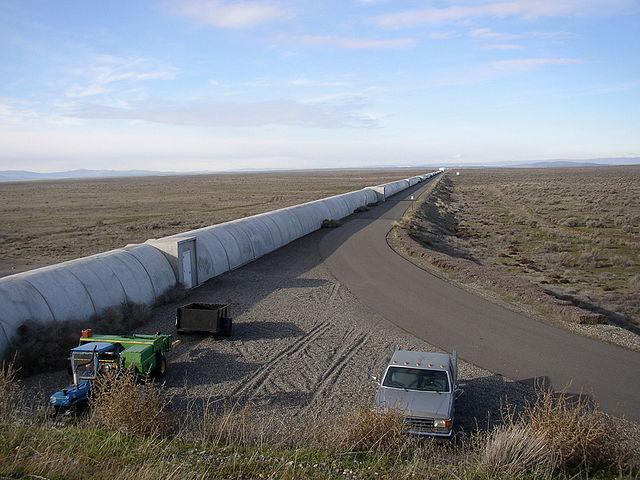Uno dei tunnel del LIGO