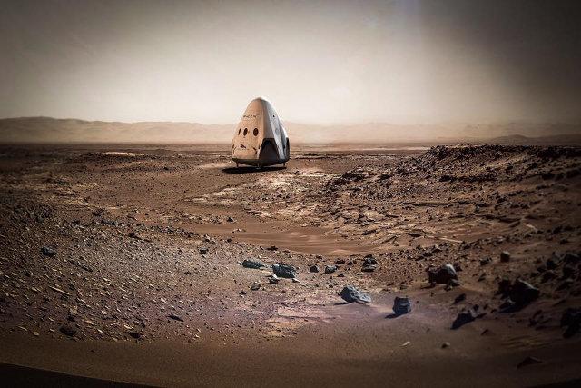 SpaceX annuncia la prima missione su Marte per il 2018