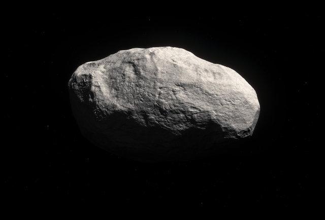 Rappresentazione artistica della cometa C/2014 S3 (PANSTARRS) (Immagine ESO/M. Kornmesser)