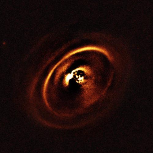 Il sistema di RX J1615 (Immagine ESO, J. de Boer et al.)