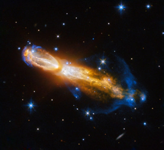 La nebulosa Zucca (Immagine ESA/Hubble & NASA. Acknowledgement: Judy Schmidt)