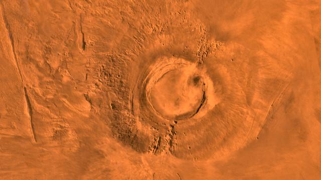 Arsia Mons (Immagine NASA/JPL/USGS)