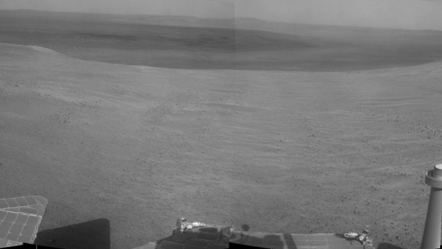 Panorama dell'area che immette in Perseverance Valley (Immagine NASA/JPL-Caltech)