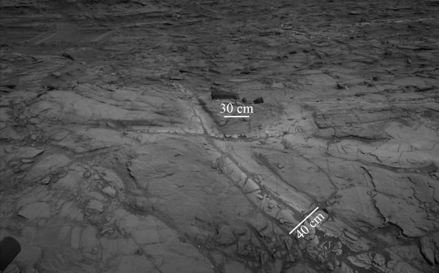 Aloni nella silice marziana (Immagine NASA/JPL-Caltech)