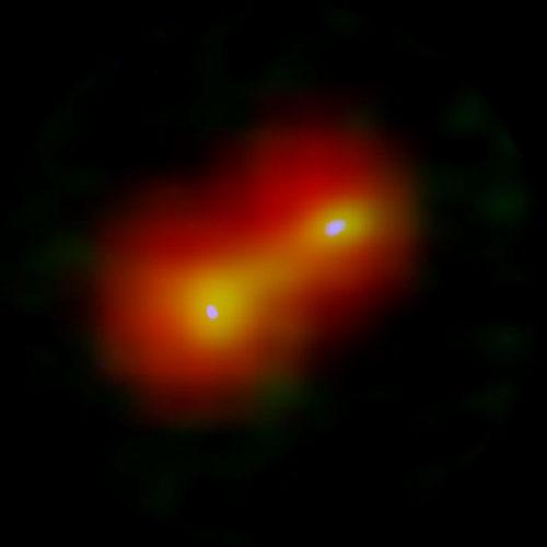 Il sistema IRAS 04191+1523 (Immagine ALMA (ESO/NAOJ/NRAO), Lee et al., ESA/Herschel/PACS)
