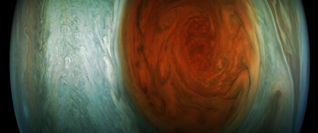 La Grande Macchia Rossa di Giove (Foto NASA/JPL-Caltech/SwRI/MSSS/Gerald Eichstadt)
