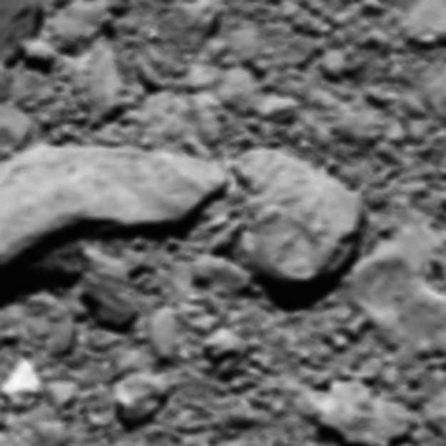 L'ultima immagine catturata dalla sonda spaziale Rosetta (Immagine ESA/Rosetta/MPS for OSIRIS Team MPS/UPD/LAM/IAA/SSO/INTA/UPM/DASP/IDA)