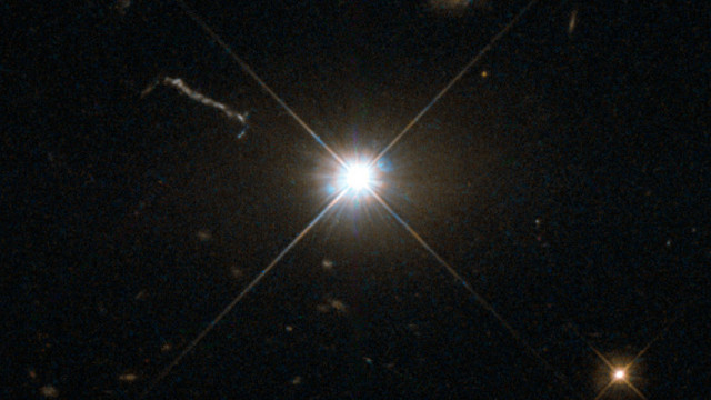 Esempio di quasar (Immagine ESA/Hubble & NASA)