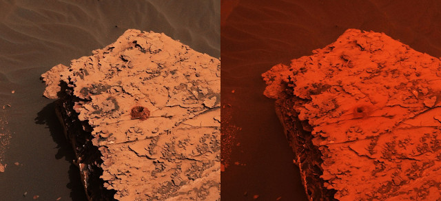Il sito Duluth su Marte