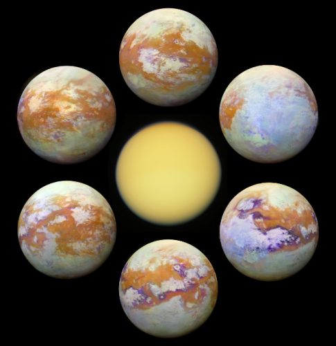 Titano (Immagine NASA/JPL-Caltech/University of Nantes/University of Arizona)