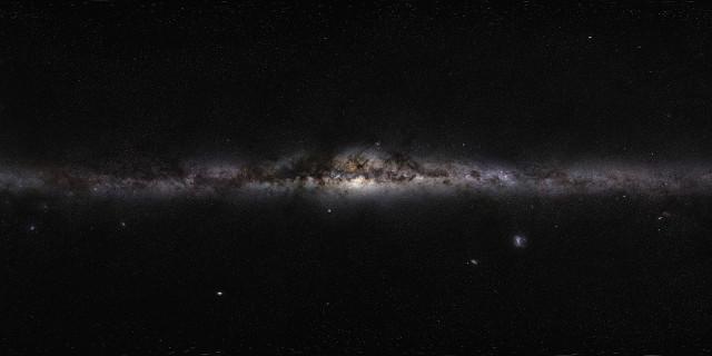Vista panoramica della Via Lattea (Immagine ESO/S. Brunier)