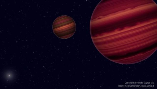 Due oggetti nel sistema Epsilon Indi al limite tra la stella e la nana bruna