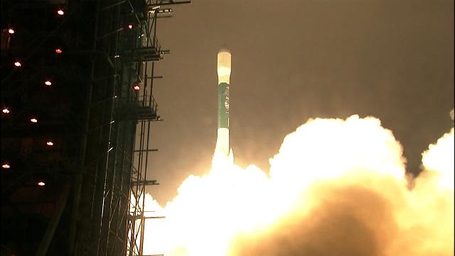 ICESat-2 al decollo su un razzo vettore Delta II (Immagine NASA TV)