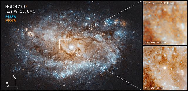 Una possibile pulsar si è formata dopo una supernova a lunga durata