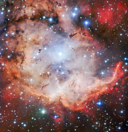 NGC 2467 vista da FORS2 (Immagine ESO)