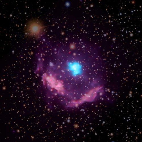 Un nuovo studio della più giovane pulsar scoperta nella Via Lattea