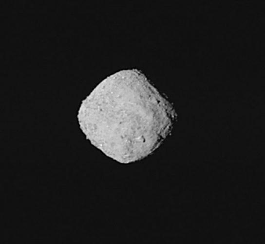 L'asteroide Bennu (Foto NASA/Goddard/University of Arizona)