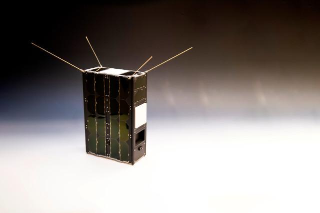 GomX-4B (Immagine ESA–G. Porter, CC BY-SA 3.0 IGO)
