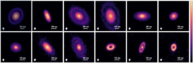 Pianeti in fase di formazione scoperti nella nube molecolare del Toro