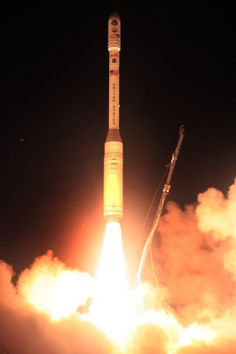 Il satellite OCO al decollo su un razzo Taurus XL (Foto NASA)