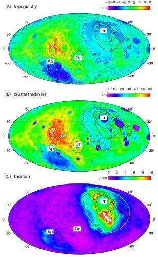 Le differenze tra le due facce della Luna potrebbero essere dovute all'impatto di un pianeta nano
