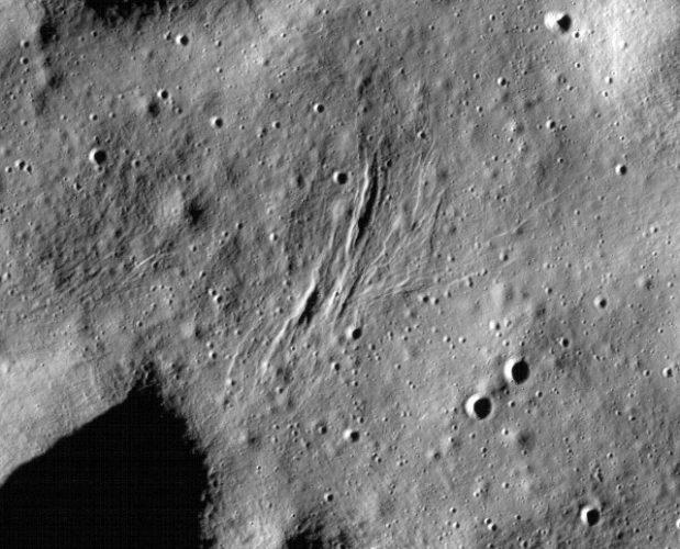 Potrebbe esserci ancora attività tettonica sulla Luna