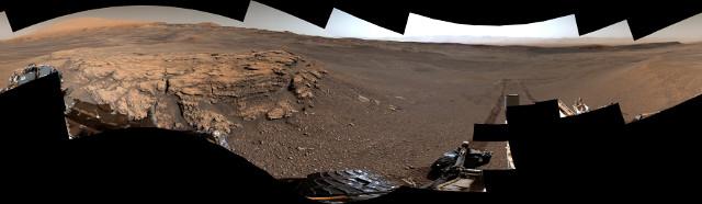 In tempi remoti c'era un ambiente dinamico nel cratere Gale su Marte