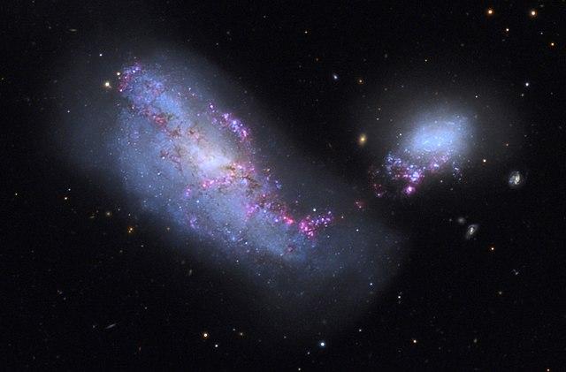 NGC 4490 e NGC 4485