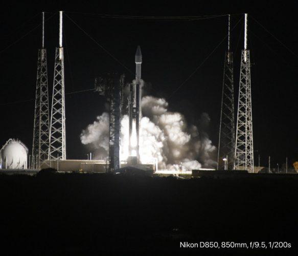 La sonda spaziale Solar Orbiter al decollo su un razzo Atlas V (Foto ESA - S. Corvaja)