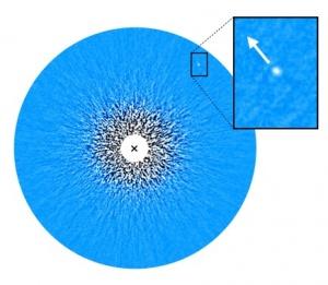 Il sistema della nana bruna GJ 504 B