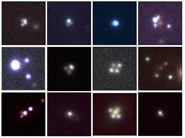 Le 12 croci di Einstein scoperte grazie a Gaia