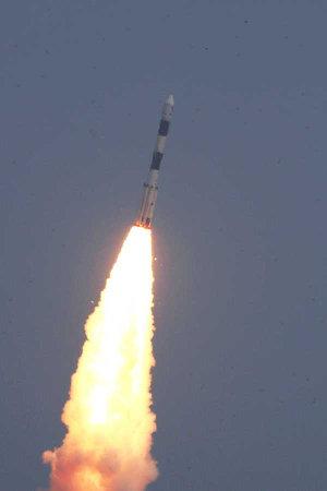 Astrosat dopo il decollo su un razzo vettore PSLV-XL (Foto cortesia IRSO. Tutti i diritti riservati)