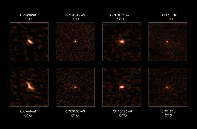 Monossido di carbonio in galassie starburst