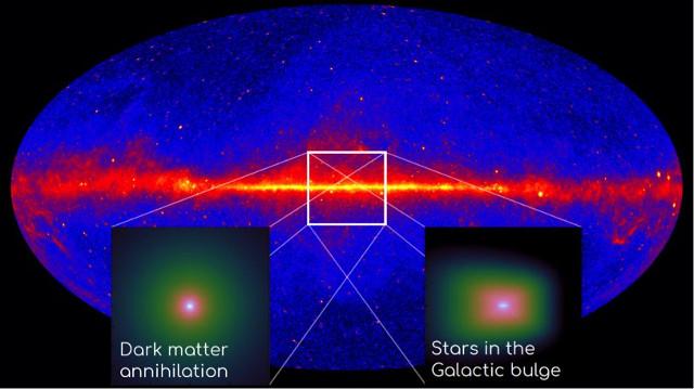 Mappa dei raggi gamma