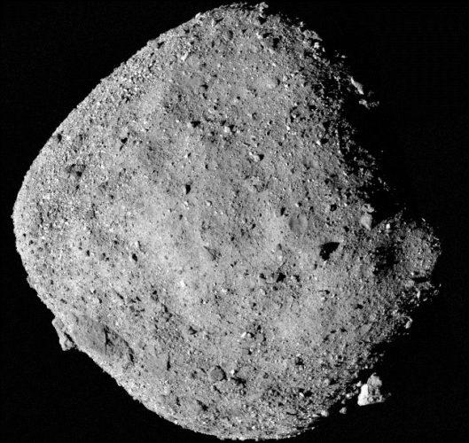L'asteroide Bennu (Immagine NASA/Goddard/University of Arizona)