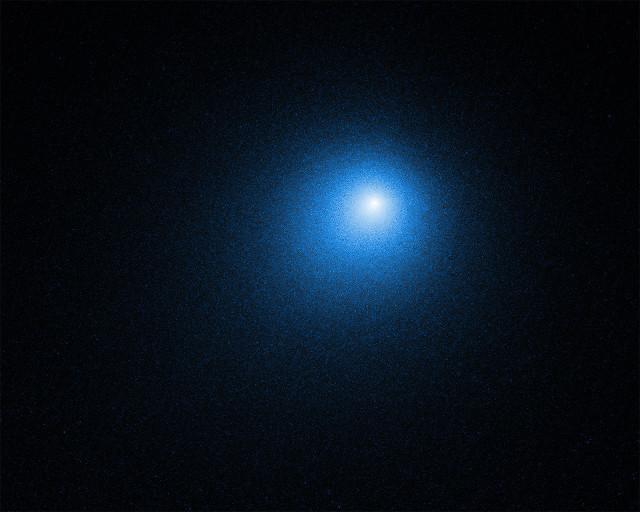 La cometa 46P/Wirtanen (Immagine NASA, ESA, D. Bodewits (Auburn University) and J.-Y. Li (Planetary Science Institute))