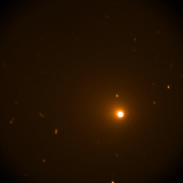La cometa 46P/Wirtanen (Immagine NASA/SOFIA)