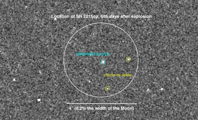 SN 2015 cp è una rara supernova di tipo Ia