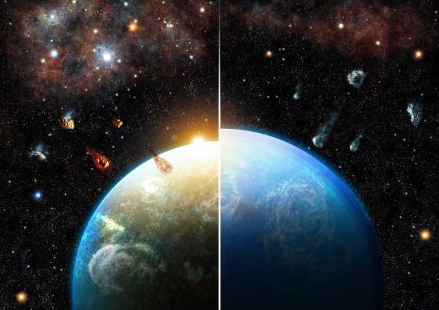 Supernove e acqua nei pianeti rocciosi