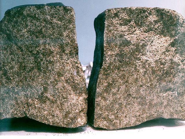 Il meteorite Nakhla (Foto NASA)