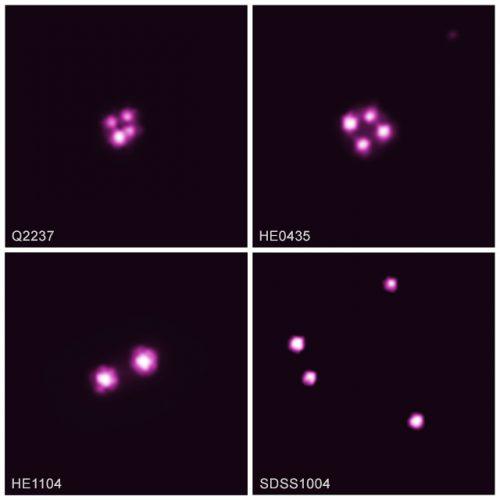 Antichi quasar ruotano a velocità relativistiche