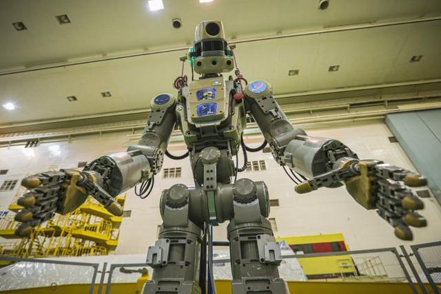 Il robot Skybot F-850 / FEDOR (Foto cortesia Roscosmos)