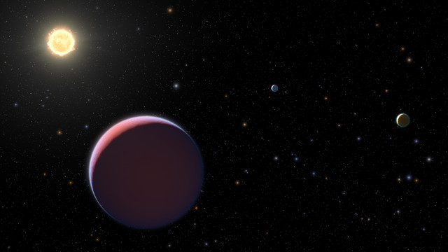 """Gli """"esopianeti di zucchero filato"""" del sistema di Kepler 51 studiati con il telescopio spaziale Hubble"""