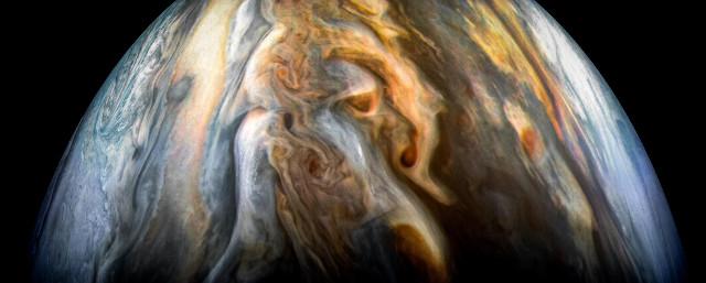 La regione equatoriale del pianeta Giove