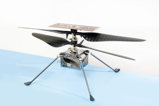 Il Mars Helicopter Ingenuity (Foto NASA/JPL-Caltech)